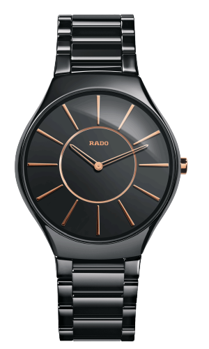 Replica Rado True Thinline Rose Gold Men Watch R27 741 15 2